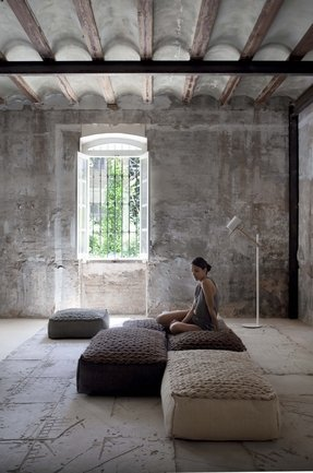 Awesome Large Pouf Ottoman Ideas On Foter Customarchery Wood Chair Design Ideas Customarcherynet