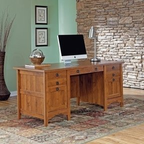 Locking desk