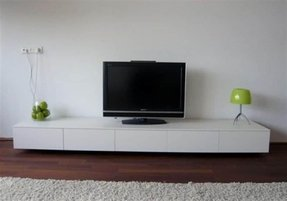 Low profile tv console 2