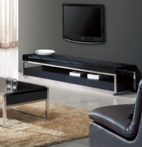 Low profile tv console 4