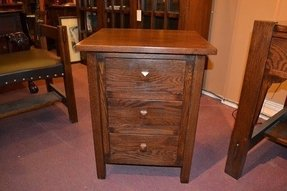 Mission oak end table or night stand 2