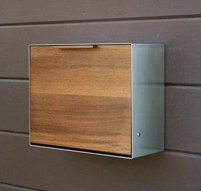 modern wall mount mailbox. Fine Wall Modern Post Mounted Mailbox Teak And Intended Wall Mount Mailbox