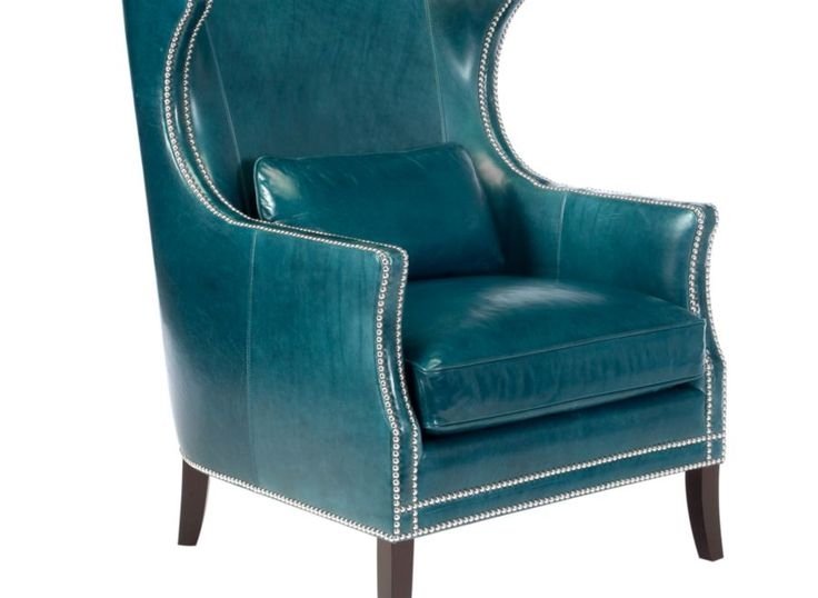 Great Nailhead Accent Chair