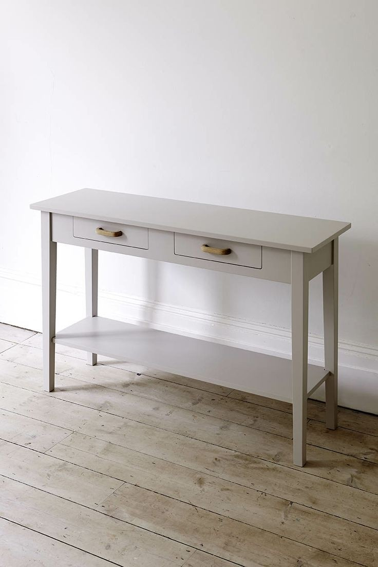 Beau Narrow Console Table With Drawers
