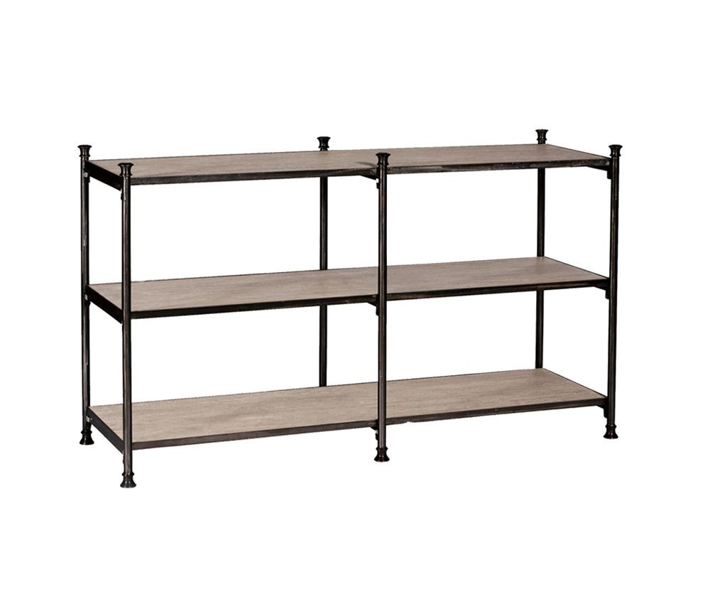 Beau Narrow Console Table With Shelf