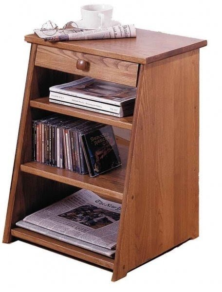 Charmant Narrow End Table With Drawers
