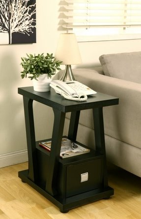 Narrow End Table With Drawers - Ideas on Foter