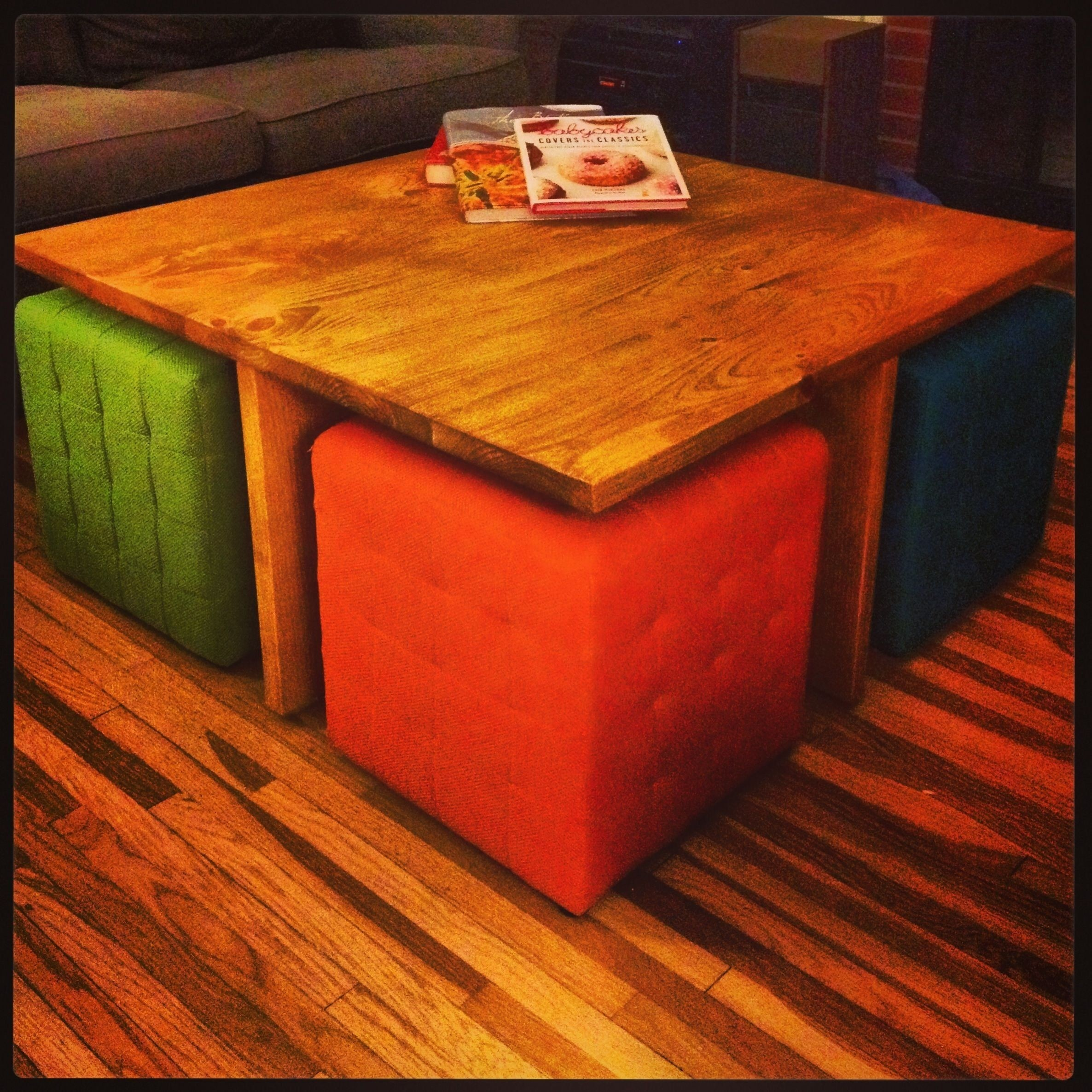 Ottoman With Seating Underneath