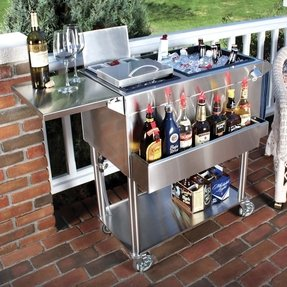 Outdoor Deck Bar Ideas Portable Patio Foter