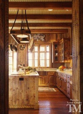 Wooden Hanging Pot Rack - Foter