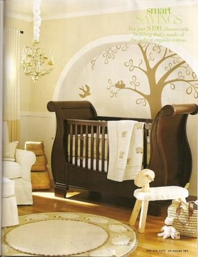 Pottery barn kids sleigh crib