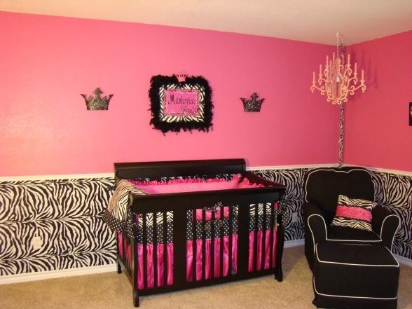 Purple Zebra Print Bedroom Decor