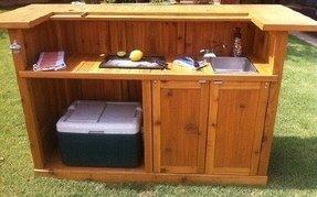 Portable Patio Bar - Foter