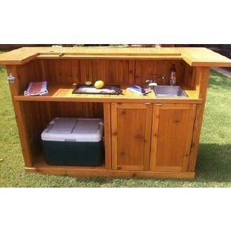 Rustic Portable Bar