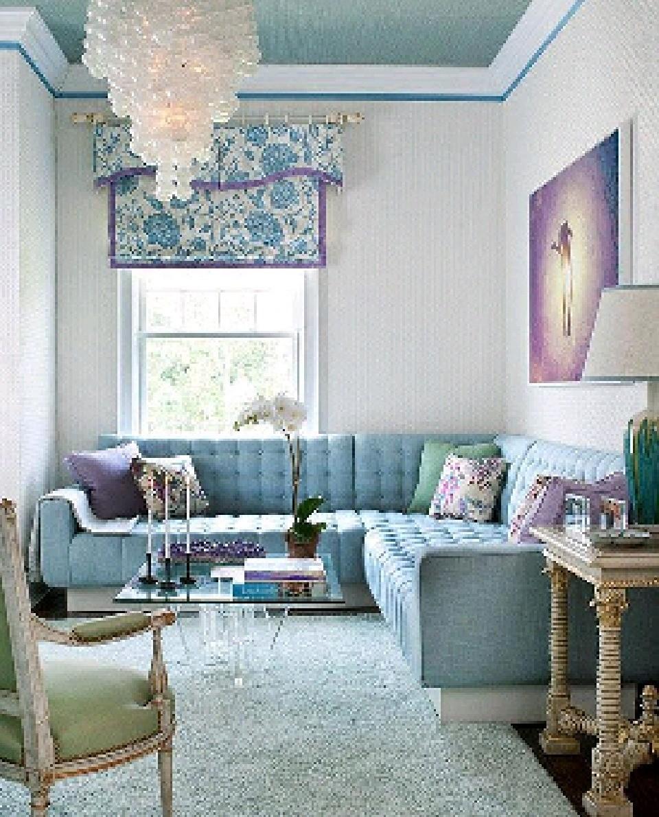 Superbe Sky Blue Sofa