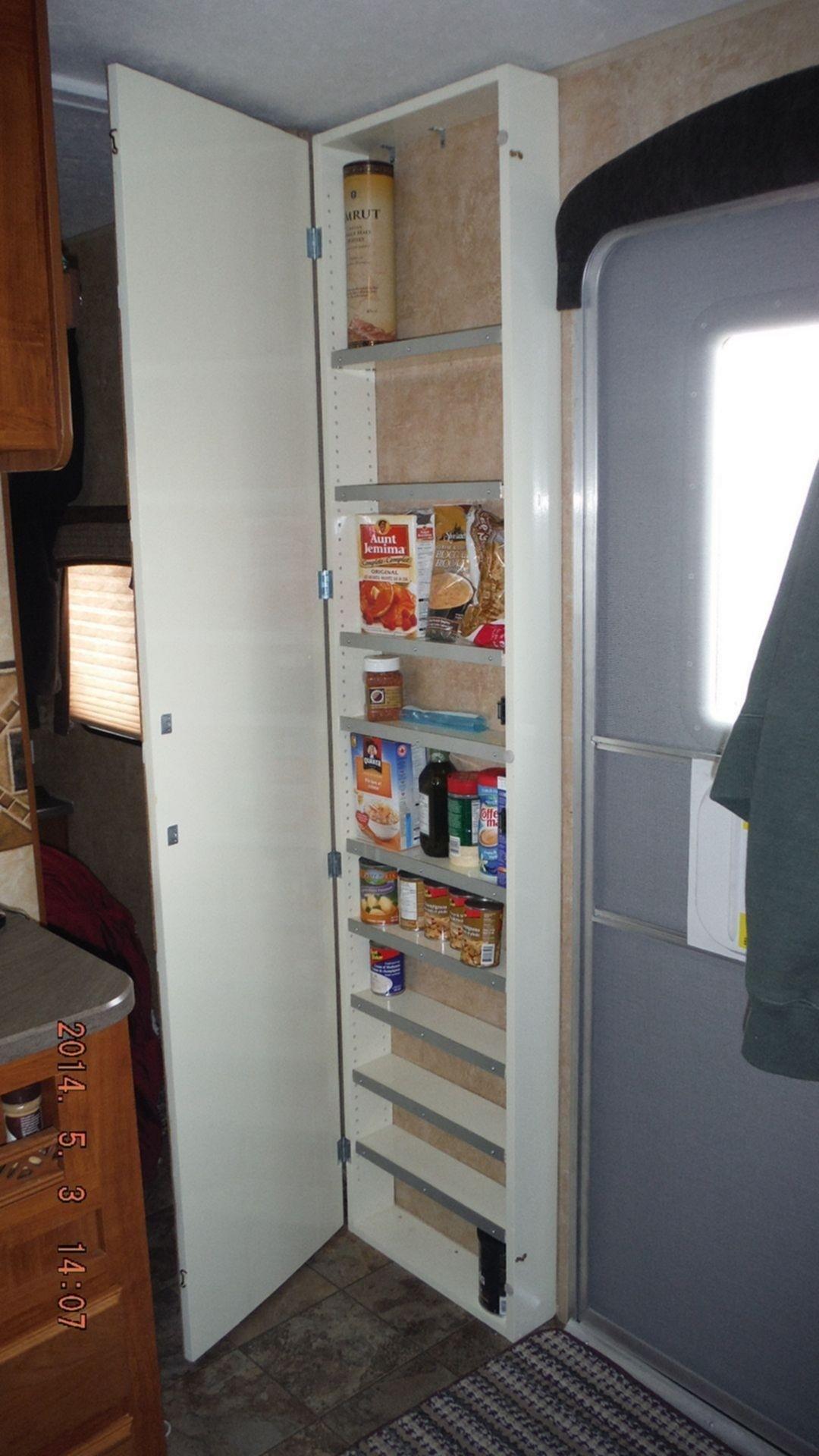Elegant Slim Kitchen Cabinet