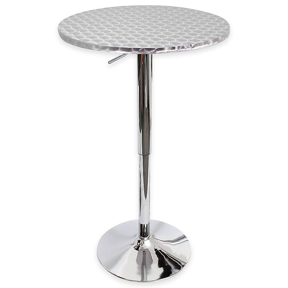 Stainless steel pub table 17  sc 1 st  Foter & Stainless Steel Pub Table - Foter