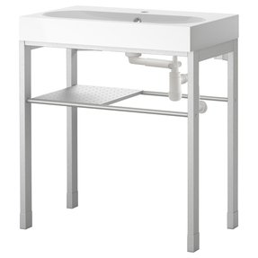 Stainless Steel Utility Sink With Legs 1