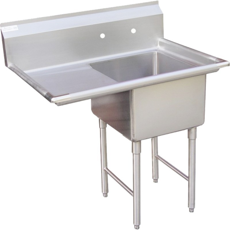 Gentil Stainless Steel Utility Sink With Legs