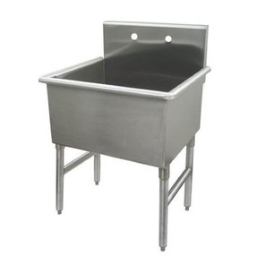 stainless steel utility sink with legs foter. Black Bedroom Furniture Sets. Home Design Ideas