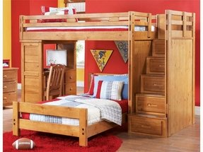 alan with arthauss colo loft and wooden furniture products trundle sosna bed bunk storage