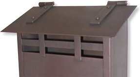 Wall mount residential mailboxes 9