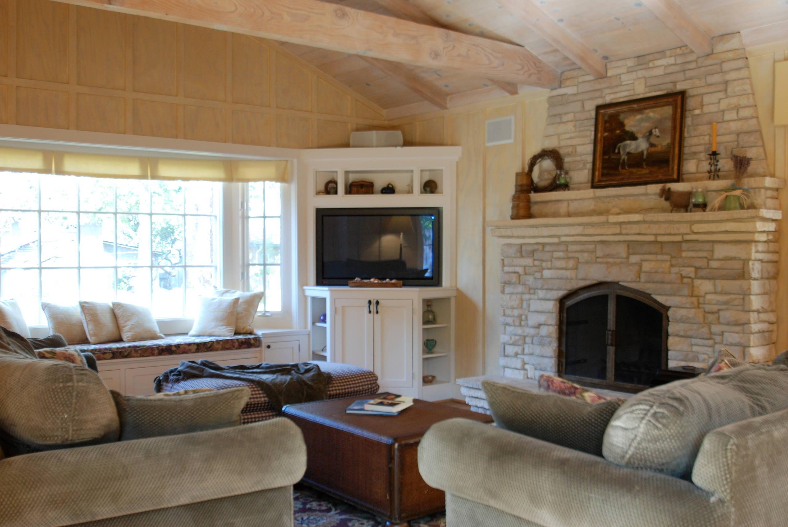Beau White Corner Tv. Built In · Corner Shelf. Corner Cabinet