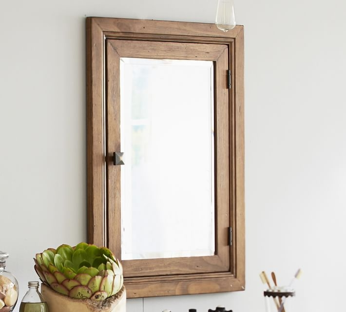 Wood Recessed Medicine Cabinet Ideas