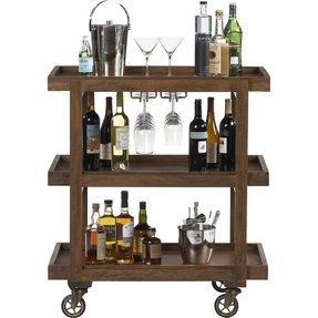 Wooden Bar Carts