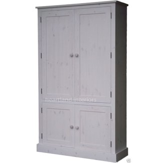 72acfe042902 100 solid wood cupboard 172cm handcrafted storage linen shoe pantry