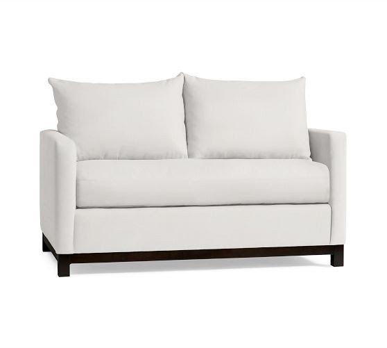 Single Cushion Loveseat   Foter