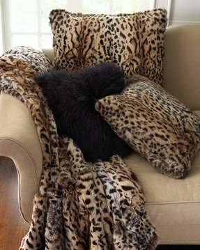 Animal print throw blankets 1