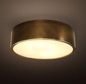 Antique brass ceiling light foter antique brass ceiling light 1 aloadofball Gallery