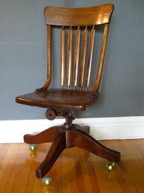 antique wood office chair. Antique Wood Office Chair