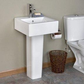 Modern Pedestal Sinks For Small Bathrooms 2020 Ideas
