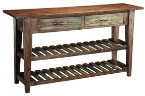 Autumn Entertaining Courtland Console Table