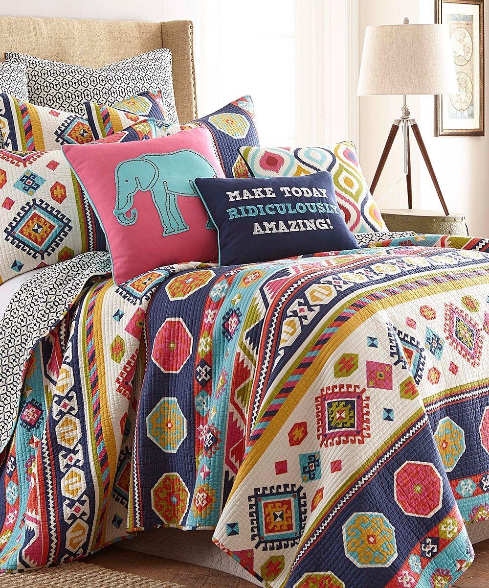 Bright Multi Colored Bedding