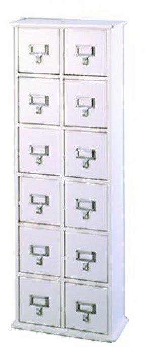Card Catalog Cd Storage Cabinet