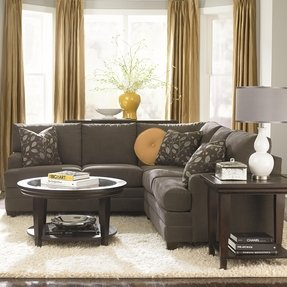 Charcoal grey couch decorating