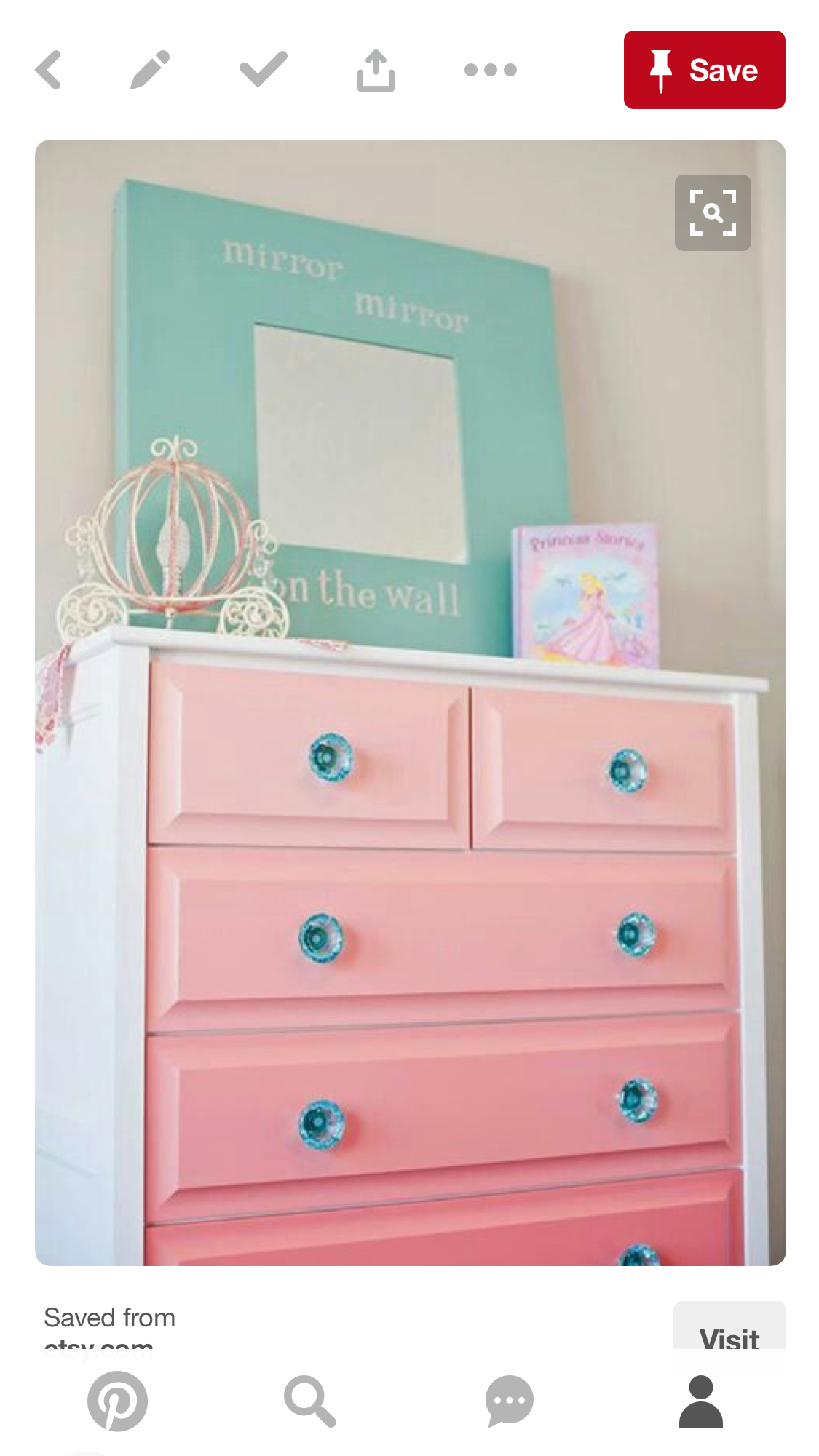 Girls White Chest Of Drawers Foter