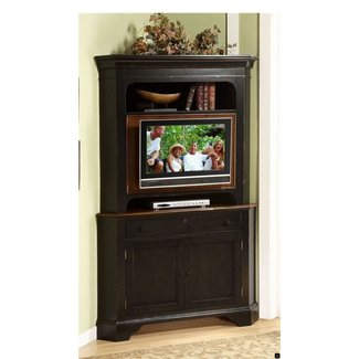 Corner Entertainment Center With Hutch Ideas On Foter