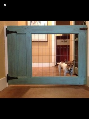 Wood Dog Gate Foter