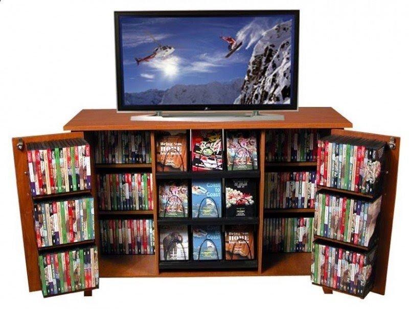 Wonderful Dvd Cabinet With Doors Interior