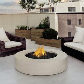 Fire pit with lid 1