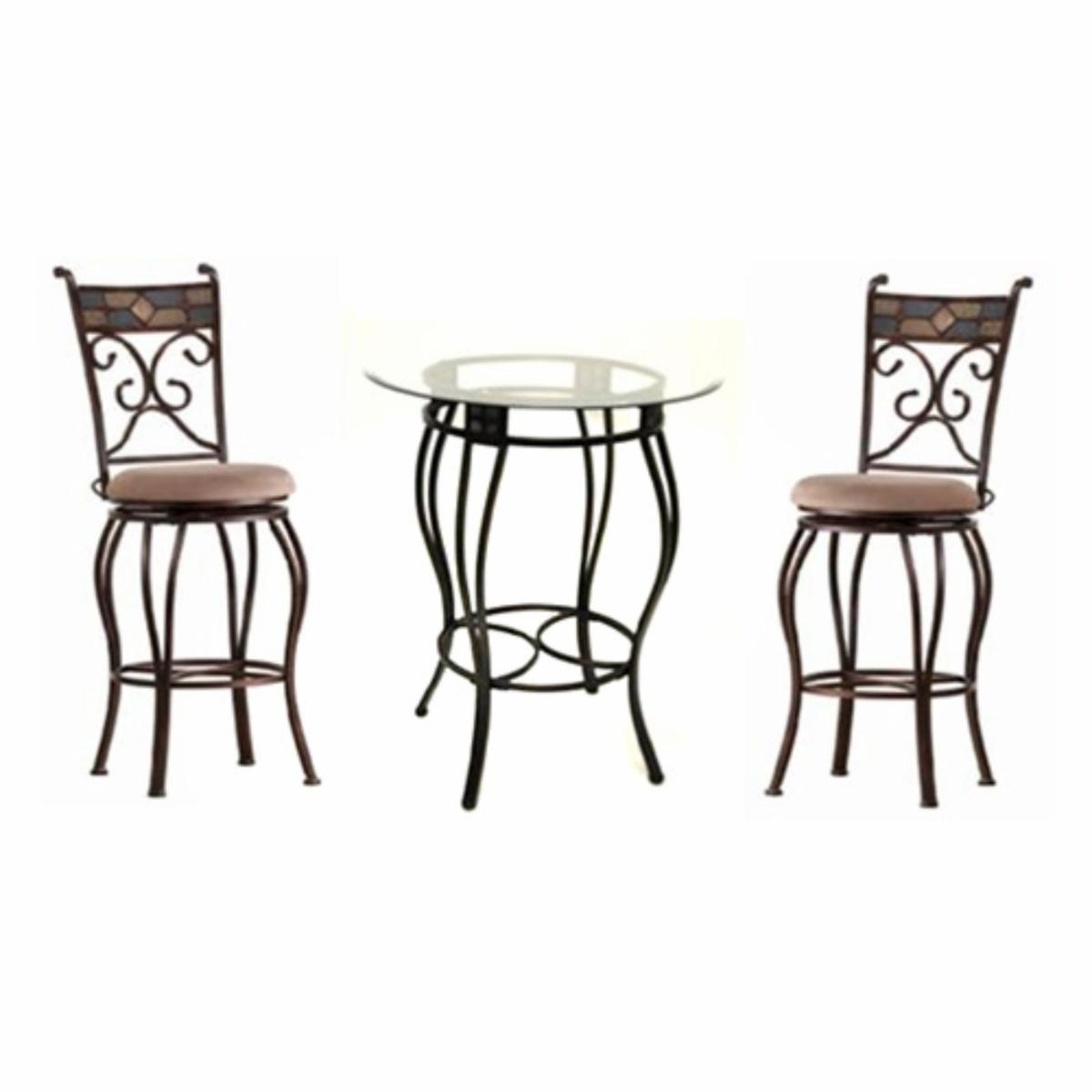 Glass Bistro Set