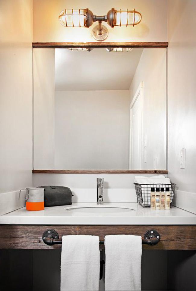Industrial bathroom lights & Industrial Bathroom Fixtures - Foter