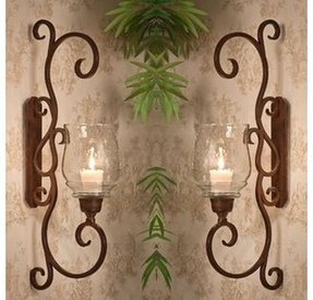 wall wrought fixture rustic p deco bathroom art sconce vintage sconces iron