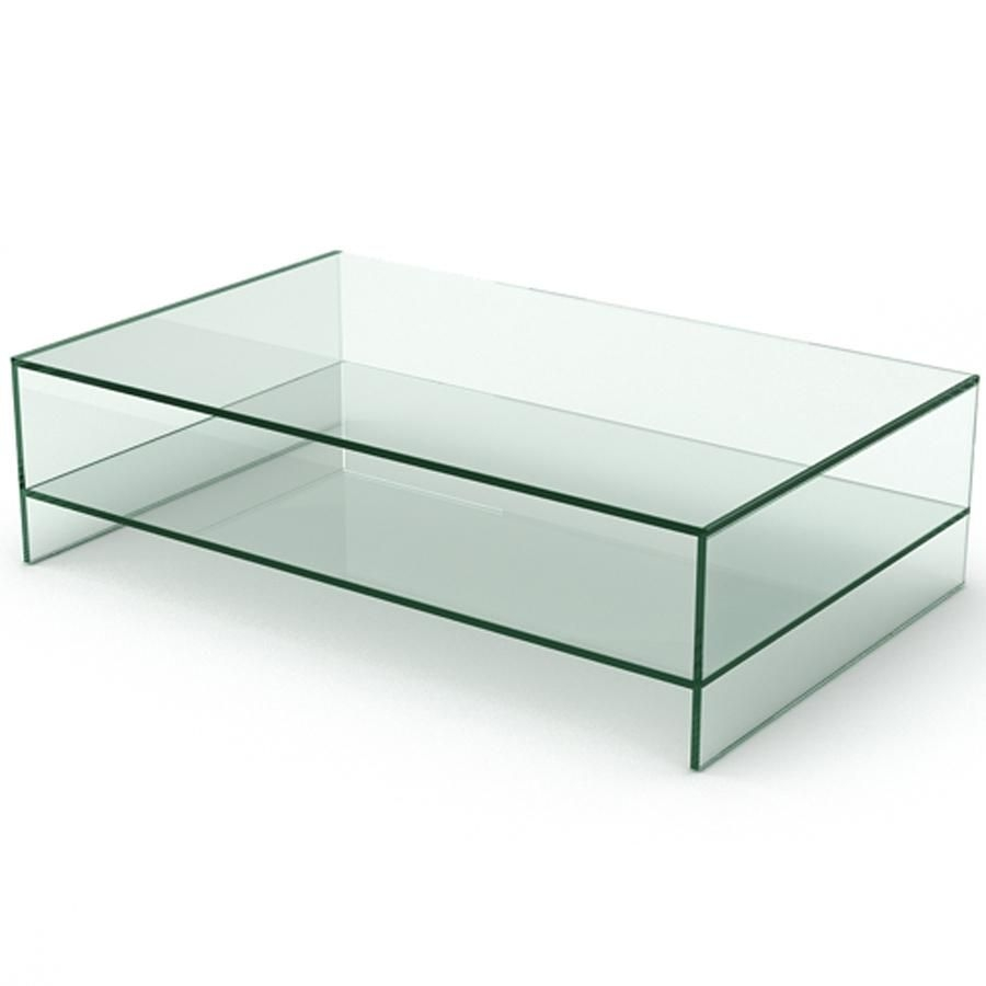 Liatorp Coffee Table White Glass