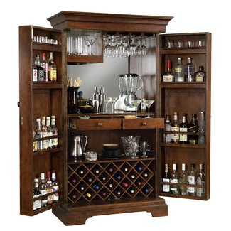 Lockable bar cabinet 5