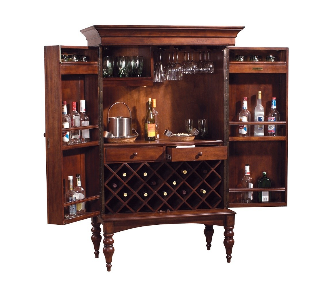 Genial Lockable Bar Cabinet 6